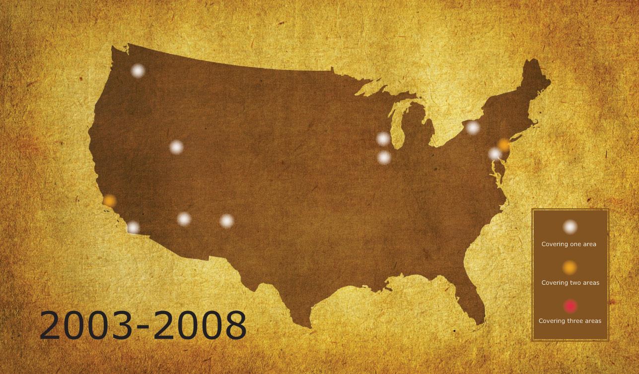 Coverage-2003-2008