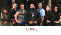 RH, Tracy